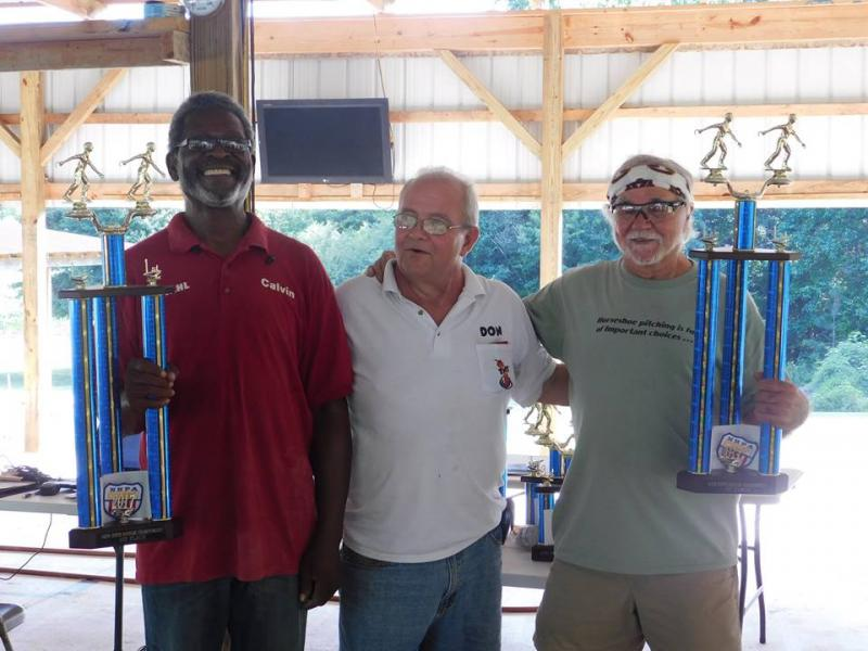 Calvin Collier and Ron Kindrick AHPA 2017 Doubles Champions